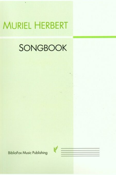 Cover page of the Muriel Herbert Songbook