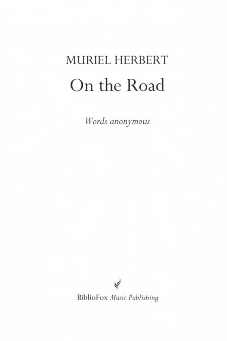 Cover page of Herbert On the Road
